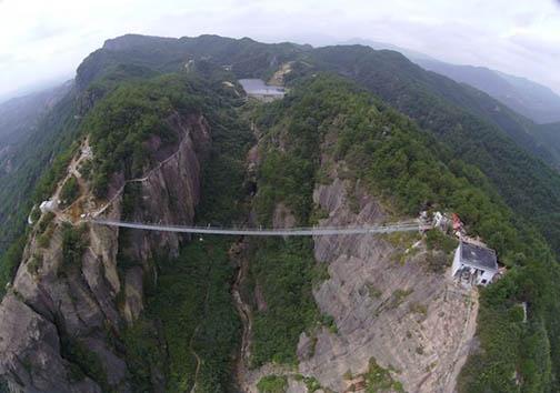 ترسناکترین پل دنیا + تصویر