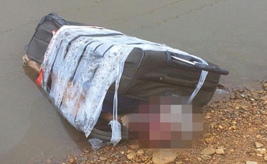کشف جسد مثله شده در رودخانه + تصاویر