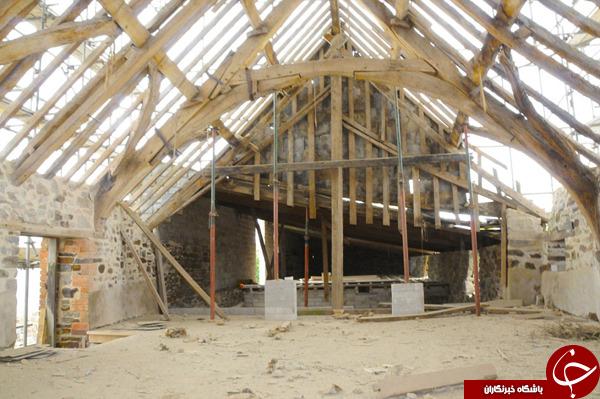 تعمیرات میلیاردی قصر قدیمی +تصاویر