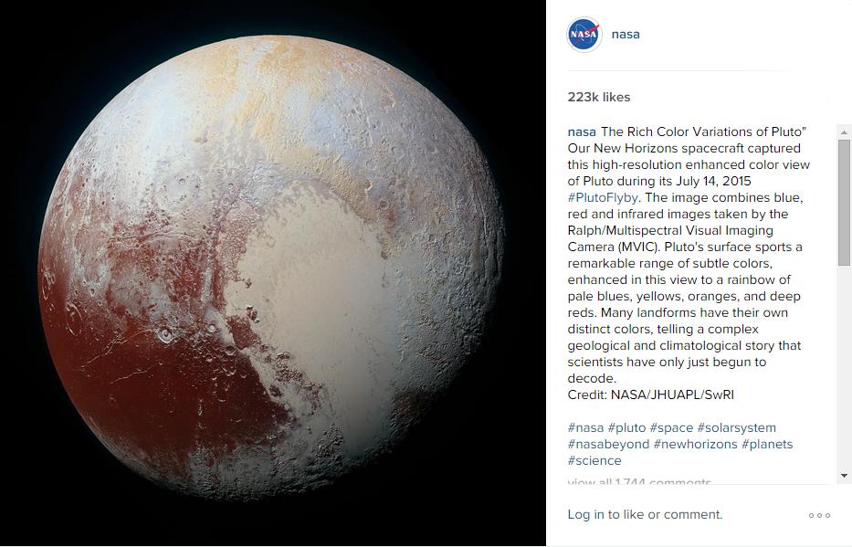 بلوز رنگ پریده سیاره پلوتون! + عکس