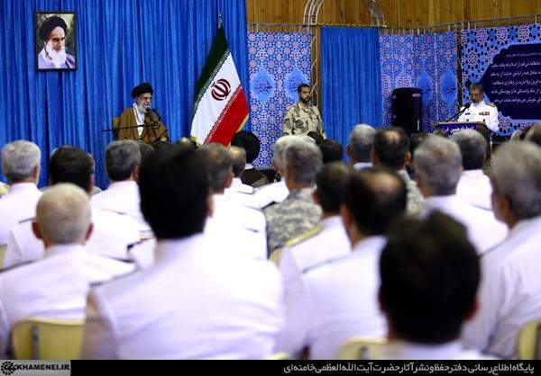 بیانات رهبر معظم انقلاب اسلامی در دیدار فرماندهان و مسئولان ارتش