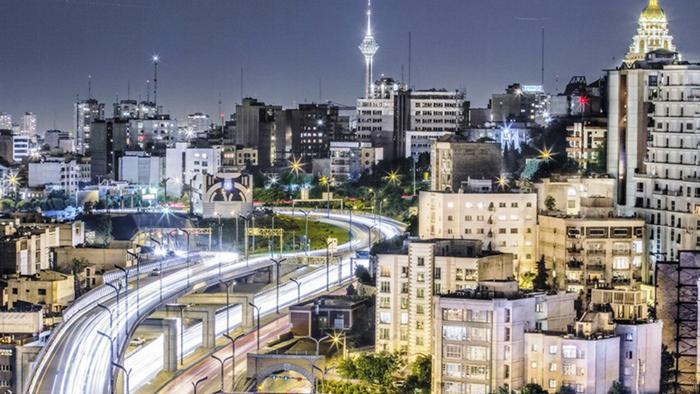 شب تهران غرق در نور!