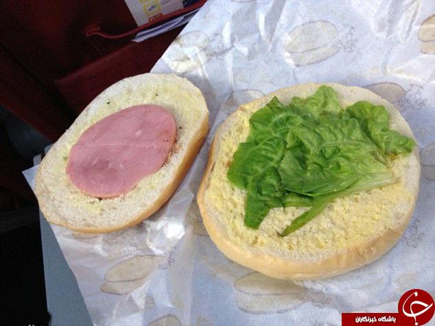 بدترین غذاهای سرو شده در هواپیماها +تصاویر