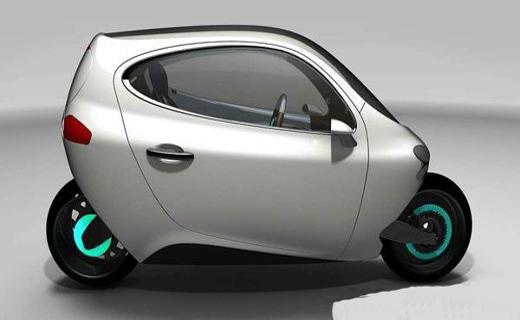 جدید ترین خودرو با دوچرخ ساخته شد+ عکس