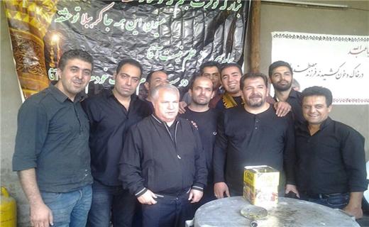 عزاداری علی پروین در ظهر تاسوعا + عکس