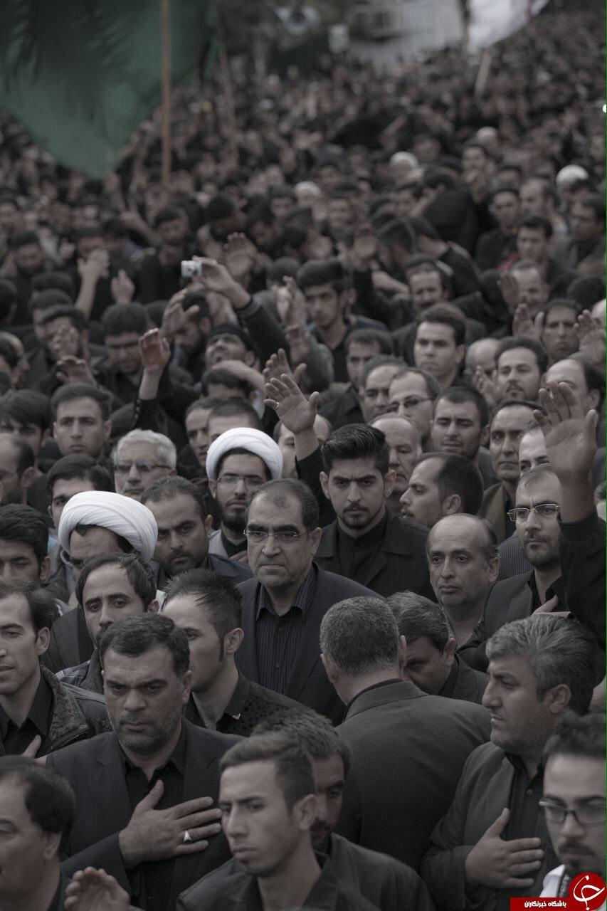 چهرهها در مجالس عزاداری امام حسین(ع) + تصاویر