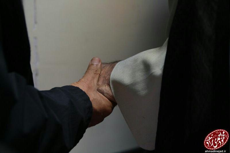 عكس ابهام برانگيز كانال تلگرامي احمدي نژاد