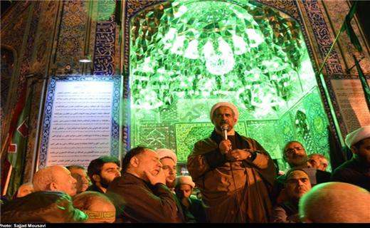 تجمع اعتراضی نسبت به هتاکی عصر عاشورا در تهران +عکس