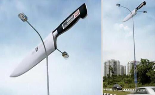 تبلیغات و اختراعات خلاقانه+ تصاویر