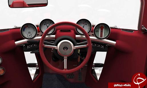 رونمایی تویوتا از یک خودروی عجیب +تصاویر