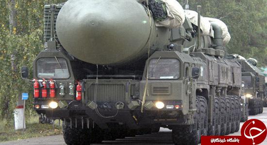 موشک یارس قدرت نظامی روسیه قدرت نظامی آمریکا RS 24 Yars