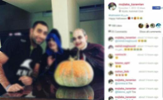 ردپای هالووین از «بی بی سی» تا کافیشاپهای تهران!
