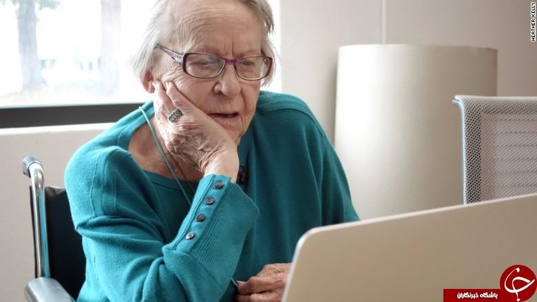 دیدن شرکت گوگل، آرزوی پیرزن 97 ساله