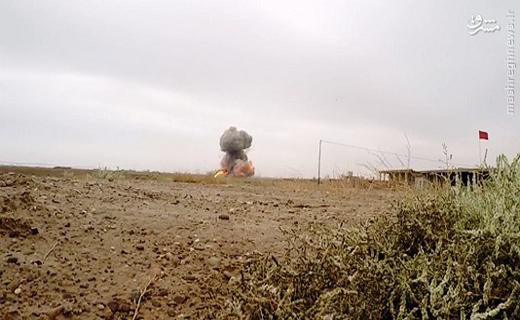 انتحاری نوجوان داعش در غرب سامراء+تصاویر