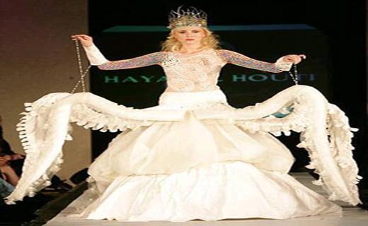 بدترین لباس عروس ها + تصاویر
