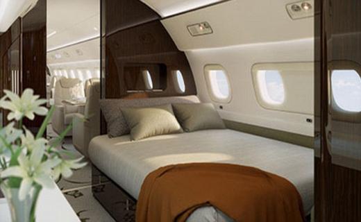 لوکس ترین هواپیمای جهان+ تصاویر