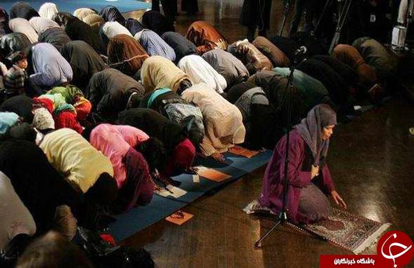 اسلام آمریکایی/ نماز جماعت مختلط به امامت زن