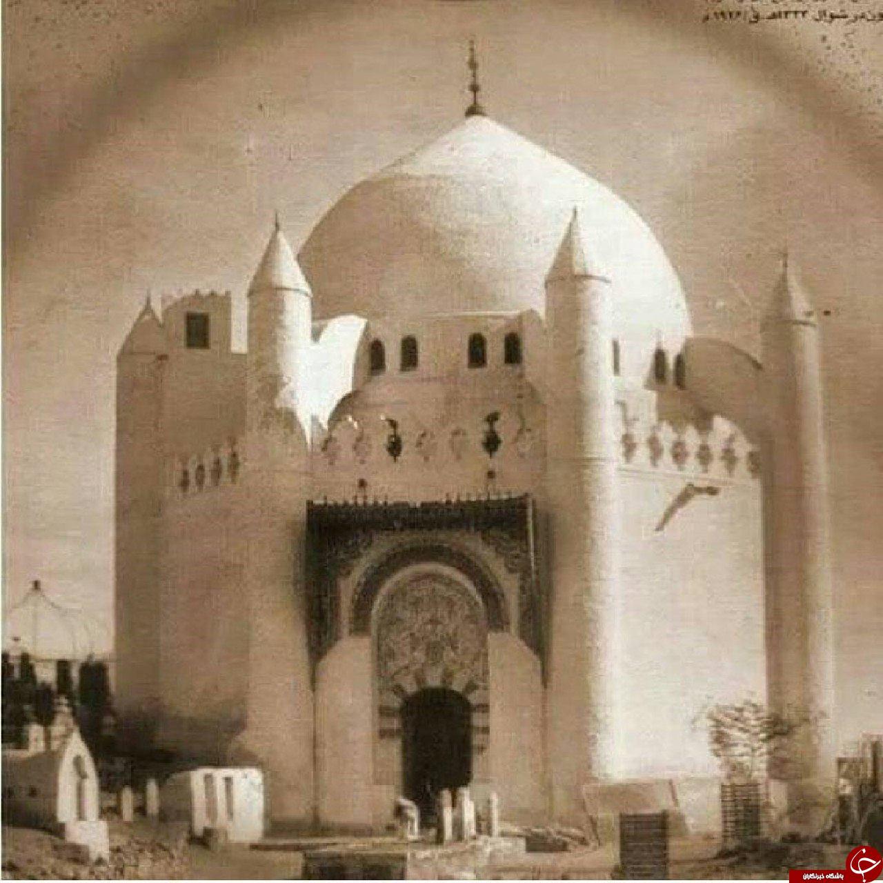 عکس از مسجد نبی قبل از تخریب
