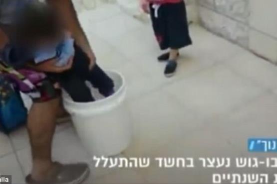 تنبیه فرزند به روش بنیاسرائیلی+تصاویر