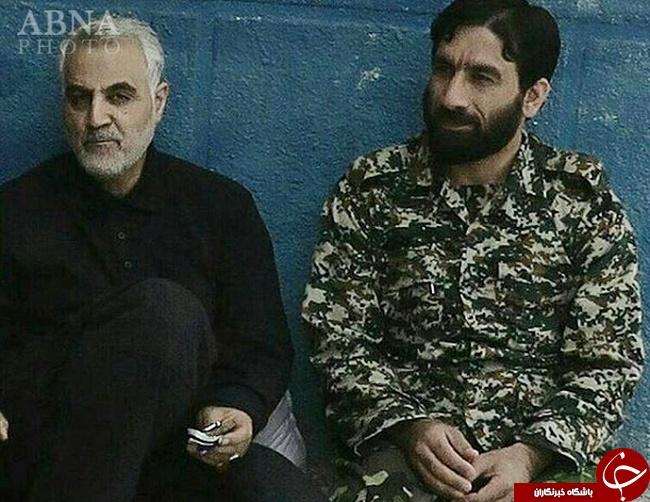 شهادت سلیمانی در سوریه+ تصاویر