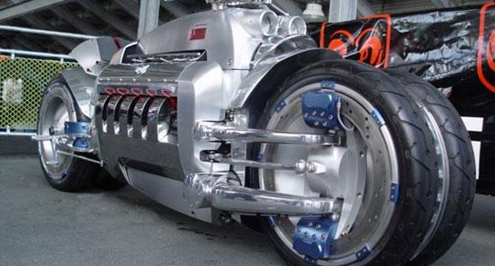 Dodge Tomahawk با سریع ترین موتورسیکلت های دنیا آشنا شوید+عکس!