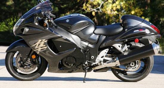 Suzuki Hayabusa با سریع ترین موتورسیکلت های دنیا آشنا شوید+عکس!