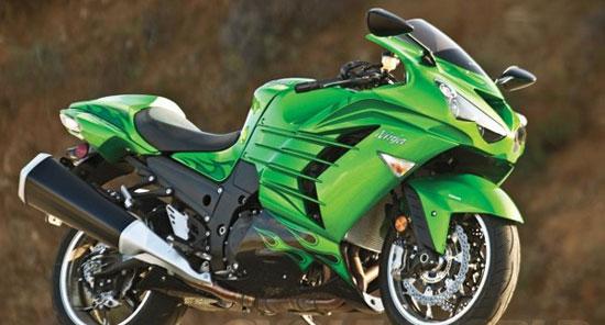 Kawasaki Ninja ZX-14R با سریع ترین موتورسیکلت های دنیا آشنا شوید+عکس!