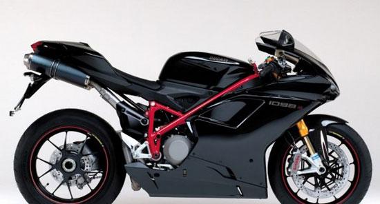 Ducati 1098 با سریع ترین موتورسیکلت های دنیا آشنا شوید+عکس!