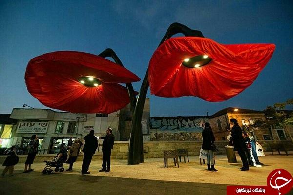 چراغ های هوشمند خیابان +تصاویر