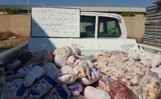 ماجرای گوشتهای فاسد در بیمارستان شوش از زبان رئیس دانشگاه دزفول + تصاویر