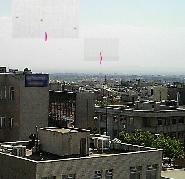 بشقاب پرنده در آسمان اردبیل/جوابیه استانداری +عکس
