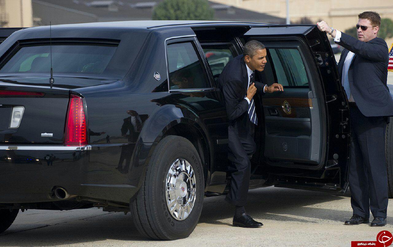 تیم حفاظتی اوباما +تصاویر