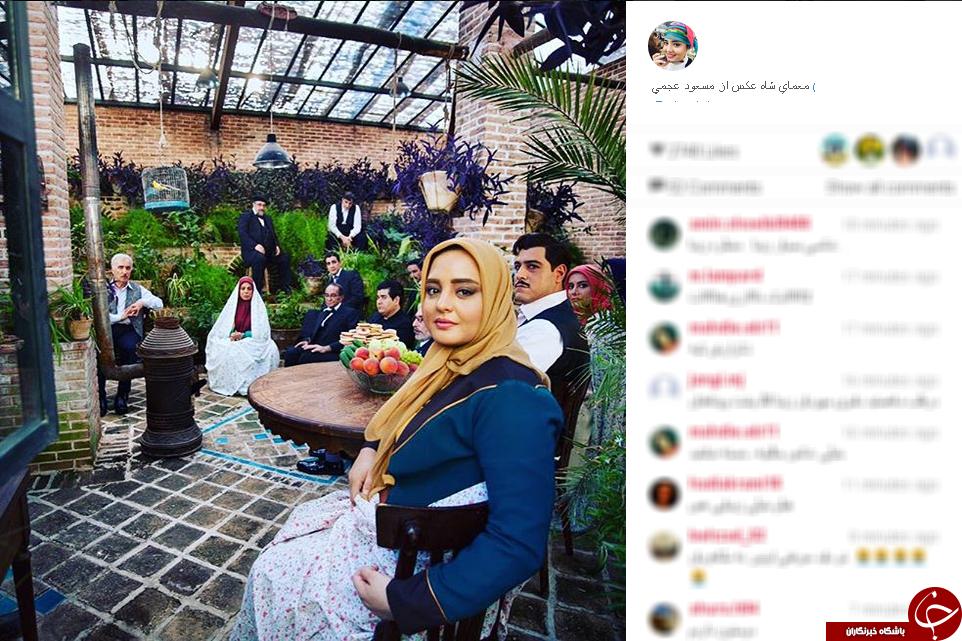 عروس دکتر وزیری در سزیال معمای شاه+تصاویر