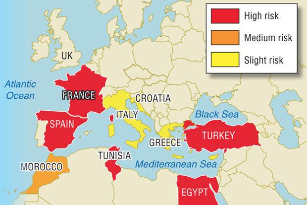 رخنه داعش به اروپا/ تشکیل پایگاه در کشورهای حوزه بالکان+ نقشه
