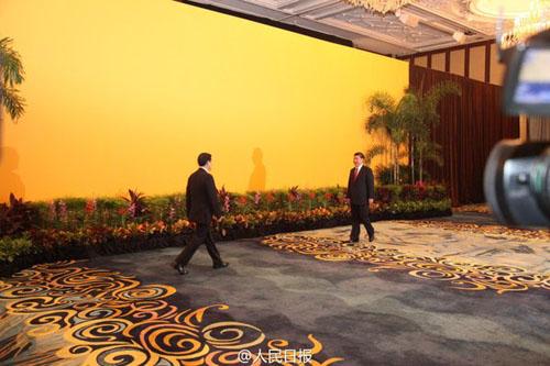 دیدار تاریخی رؤسای جمهور چین و تایوان