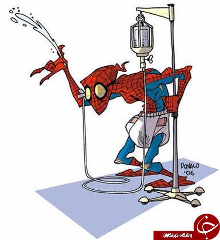 شخصیت های کارتونی دهه هفتادی هم پیر شدند!