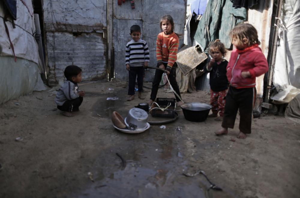 بحران آب در نوار غزه+ تصاویر