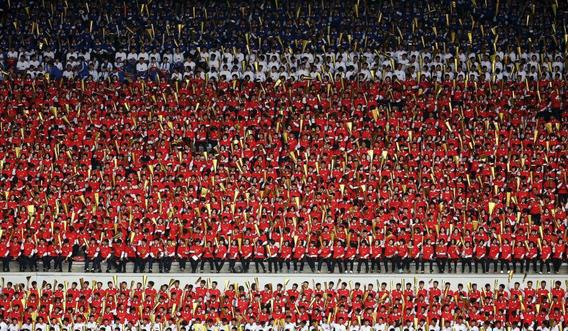تصاویر عجیب و شگفت انگیز از نظم در کره شمالی!///// کارتابل قفل کرده تصاویر باز نمی شوند // تصاویر ذخیره شده  است