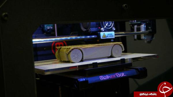 ساخت خودرویی کامل با پرینتر سه بعدی