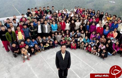 این مرد هندی 39 همسر دارد+عکس