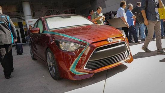 نمایشگاه خودرو تویوتا همه را بهت زده کرد+تصاویر