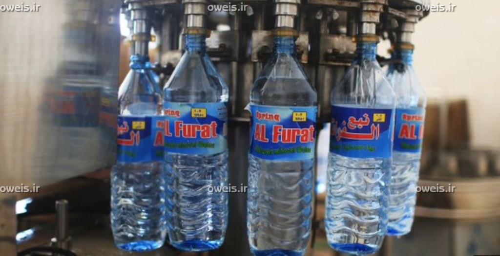 داعش شرکت آب معدنی زد + تصاویر