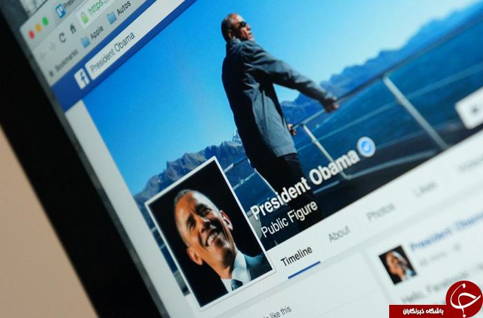 اوباما به فیسبوک آمد+ عکس