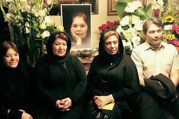 حضور هنرمندان ایرانی در مراسم چهلم هما روستا در کالیفرنیا+ عکس