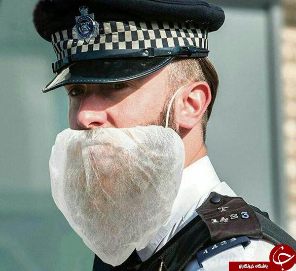 ممنوعیت ریش گذاشتن در پلیس انگلیس! + عکس