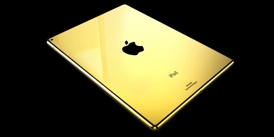 رونمایی از گوشی طلایی اپل + عکس