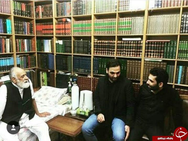 احسان علی خان در مراسم شب عاشورا + تصاویر