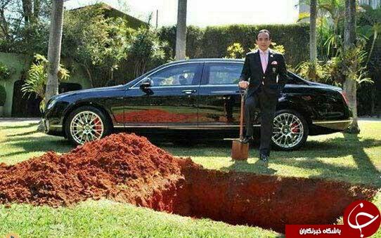 اقدام عجیب اسکارپا یکی از ثروتمندترین مردان برزیلی +عکس