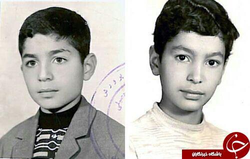 عکس کودکی و جوانی شهید طهرانی مقدم