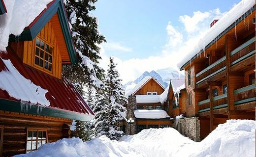 هتلی بی نظیر در میان کوهها+تصاویر